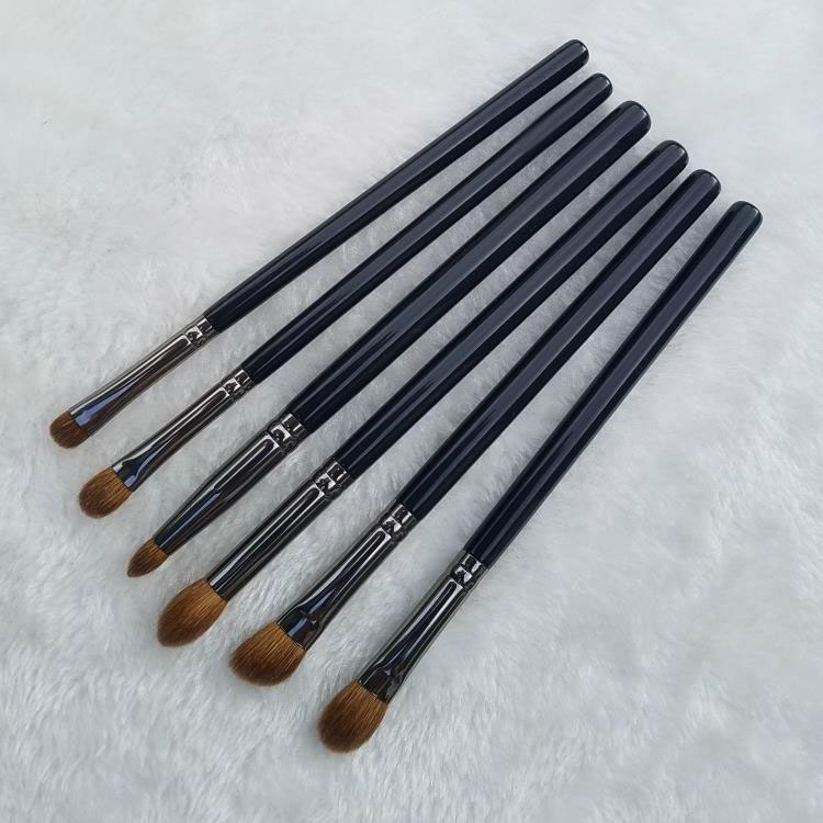 6pcs Professional Makeup Brushes Set Goat Synthetic Hair Eye Shadow Blending Highlighter Brush Cosmetic Tool Eyes Make Up Brush 32 pcs kit makeup brushes professional set cosmetic professional makeup brush set goat hair real makeup brushes brand techniques
