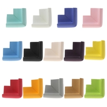Baby Safety Corner Desk Guards Rubber Table Protection Kids L Shaped Soft Edge
