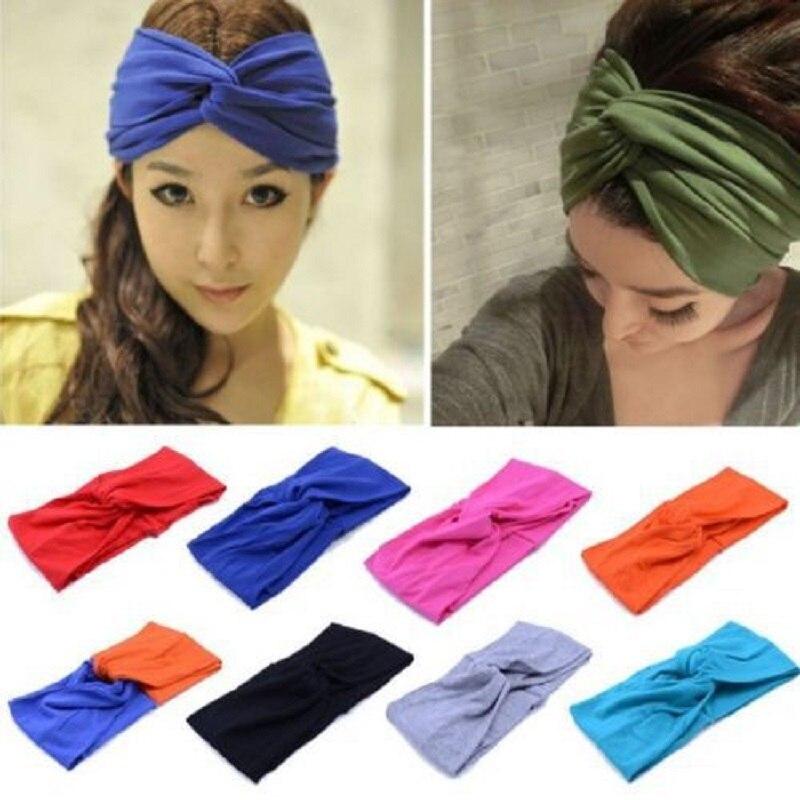 Twist Knot Turban Knot Baby Girl/'s Cotton Headband HairBand Headwear Cross