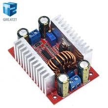 DC 400W 15A Step-up Boost Converter Constant Current Power Supply LED Driver 8.5