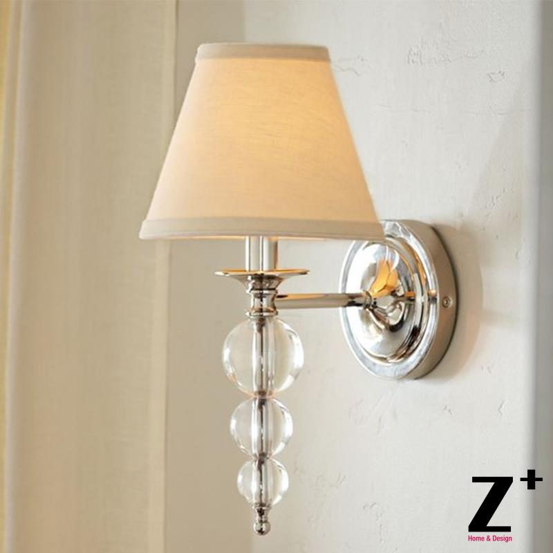 Crystal Sconce Wall Lamp