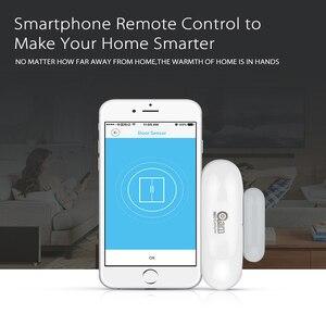 Image 2 - NEO COOLCAM Sensor de ventana de puerta con Wifi, automatización inteligente del hogar, notificaciones por aplicación, compatible con Alexa y Google Home