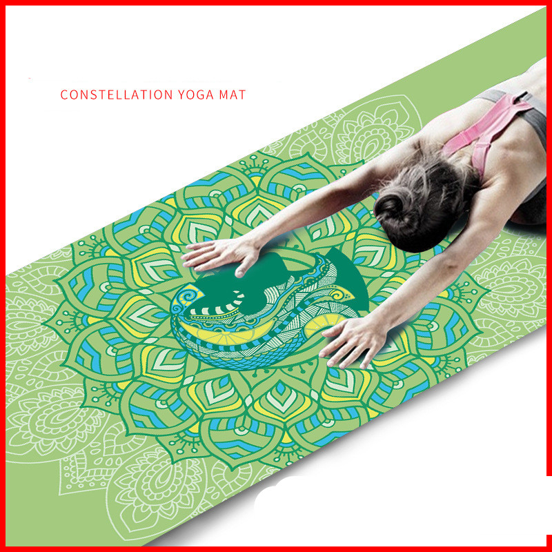 Aries Virgo Taurus Cancer Scorpio Sagittarius Leo Pisces Gemini Aquarius Libra Scorpio Yoga Mat, Fitness Mat, Factory Direct