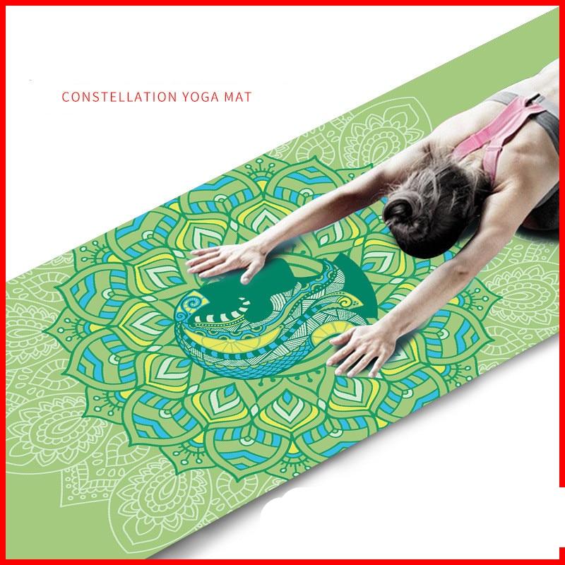 Aries Virgo Taurus Cancer Scorpio Sagittarius Leo Pisces Gemini Aquarius Libra Scorpio Yoga mat, fitness mat, factory direct