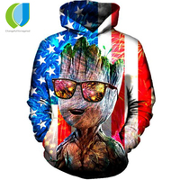 American Flag 3D Hoodies Sweatshirt Men Women Long Sleeve Autumn Winter Pullover Hoody Tops Casual Tracksuit