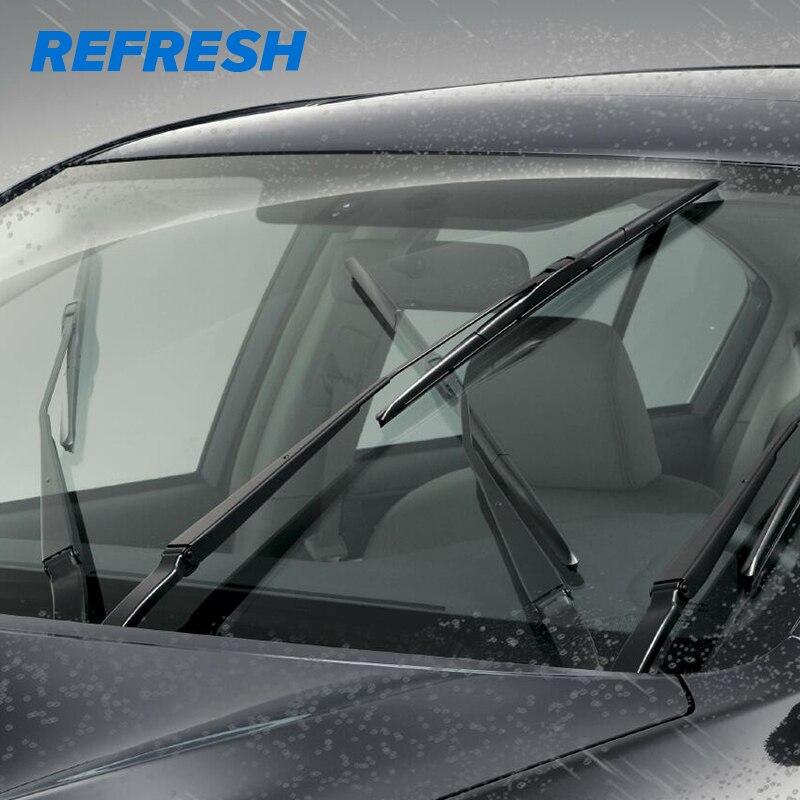 REFRESH гибридная Щетка стеклоочистителя прочная резина для Toyota Corolla Camry KIA Sportage hyundai Creta подходит только для крючков-(упаковка из 1