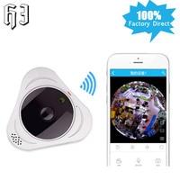 HJ Colorful 1 3MP Mini 360 Degree VR Panorama Camera CCTV HD 960P Wireless POE WIFI