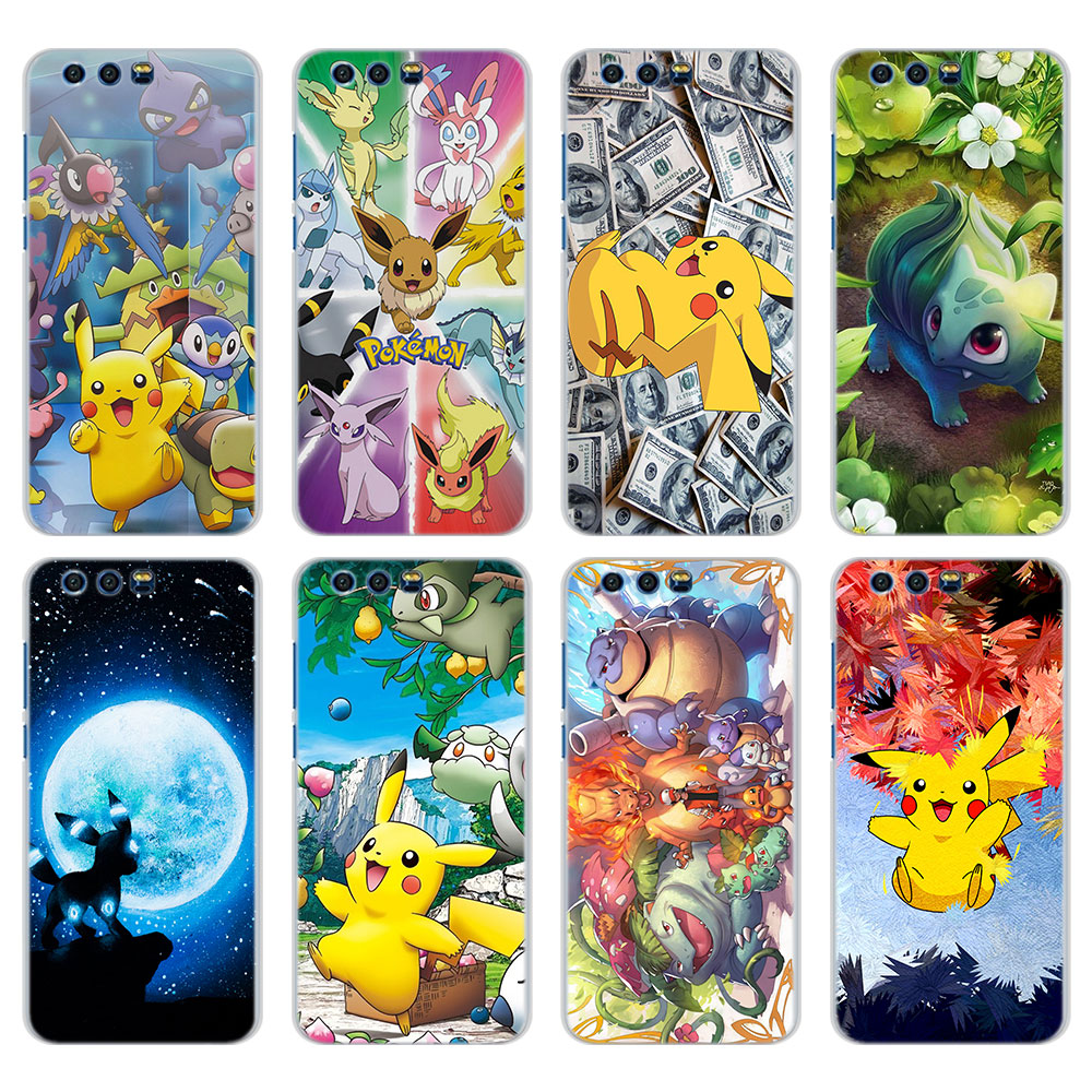 cool-font-b-pokemons-b-font-pika-pattern-transparent-frame-hard-phone-cases-cover-for-huawei-honor-8-8lite-9-9lite-10-6x-7x