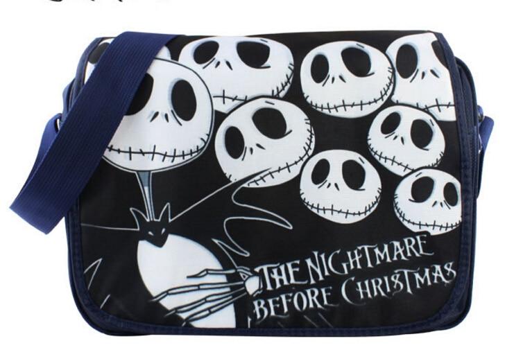 The Nightmare Before Christmas Jack Polyester Shoulder Bag Colorful Halloween Pumpkin Printing the nightmare before christmas jack polyester shoulder bag colorful halloween pumpkin printing