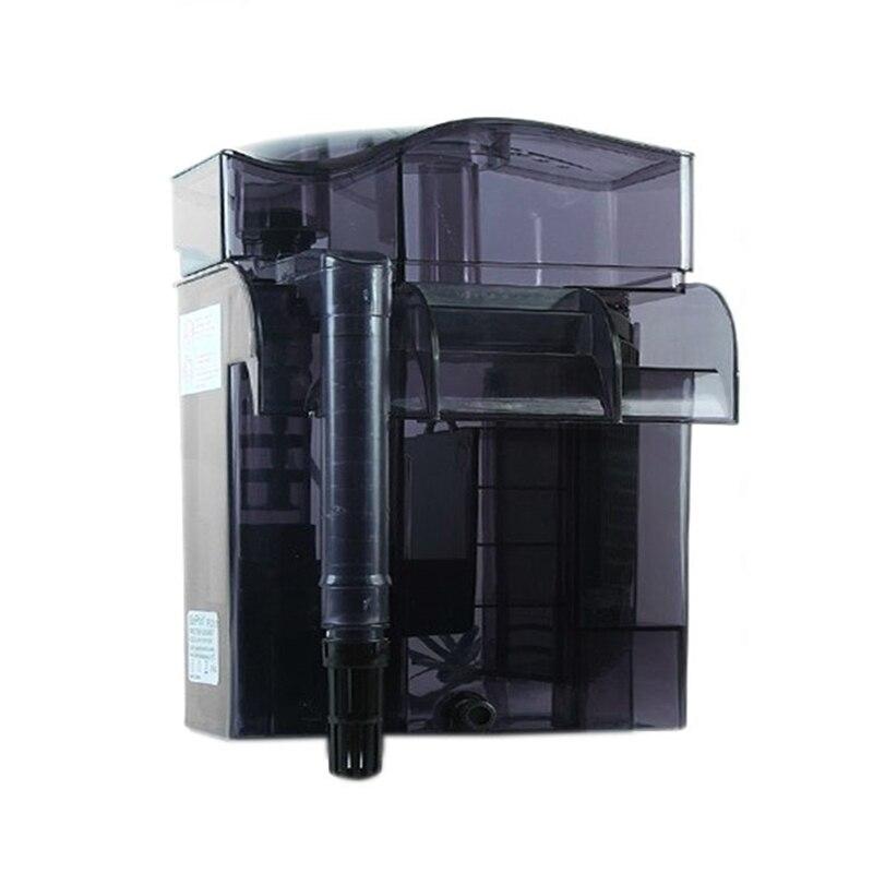 220-240 v Aquarium Mur-suspendus Ecumeur Marine Fish Tank Externe Efficace Skimmer Filtre 6.6 w
