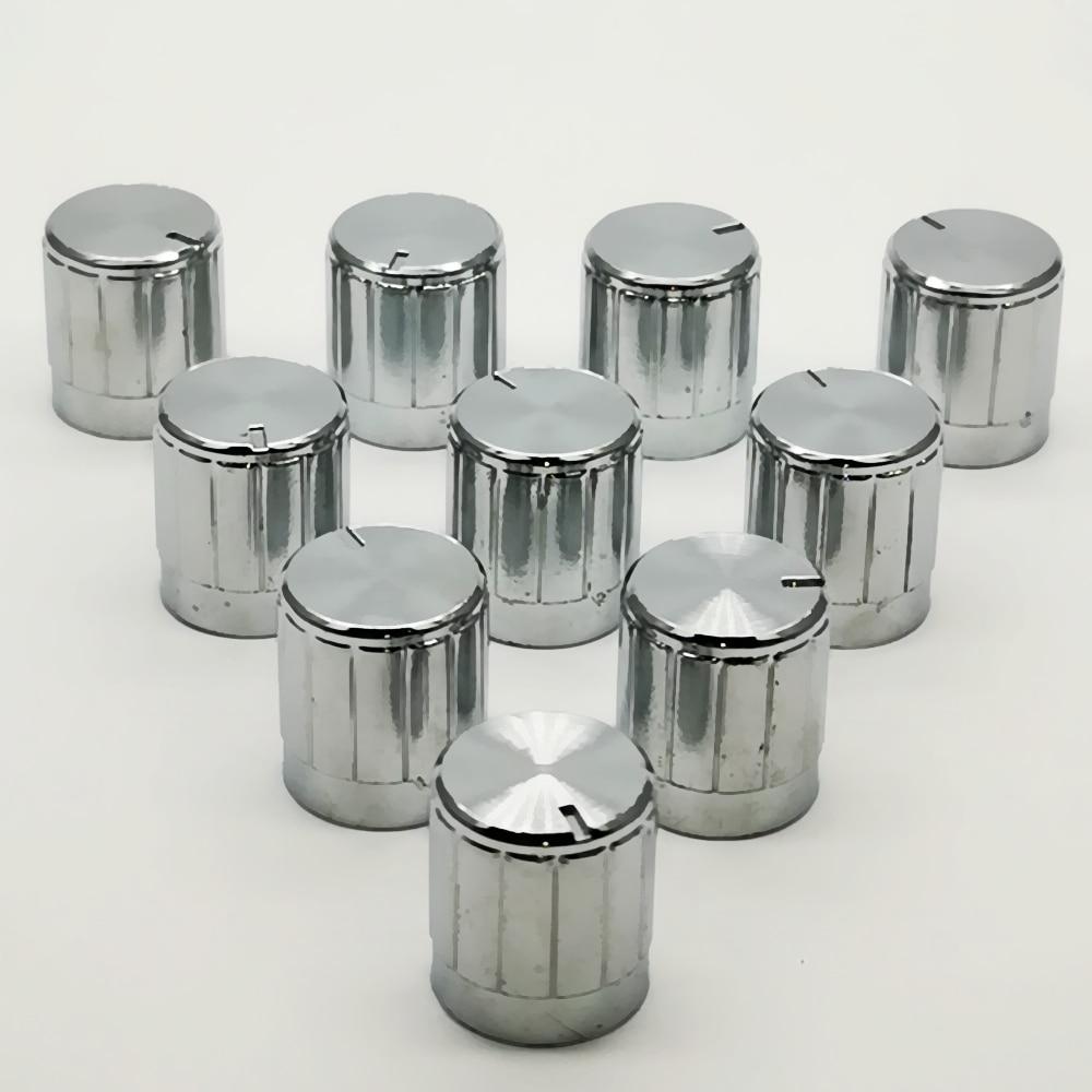 10pcs  6mm Shaft Hole  Amplifier Knob For Encoder  Potentiometer Knobs