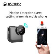 C3 Mini Camera with Wireless WIFI IP Control by Phone HD 720P Video MP4 Format Infrared Night Vision And Motion Dection DVR Cam