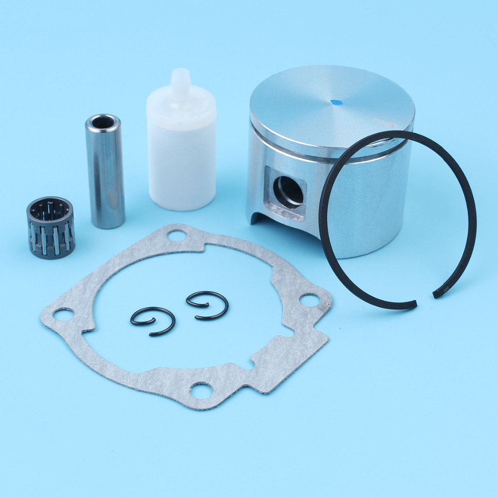 Piston 46MM Ring Pin Fuel Filter Needle Bear Kit For Husqvarna 51 55  Rancher EU1 Jonsered 2054 2055 Chainsaw 503608171,503608101-in Chainsaws  from Tools on ...