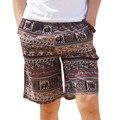 Популярный стиль тонкий срез дышащий свободные прямые шорты мужские 2017 лето должн иметь моды большой размер мужской пляж