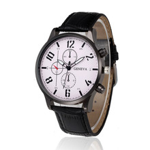 Men Watch Women Erkek Kol Saati Fashion Retro Design Leather Band Analog Alloy Quartz Wrist Watch Dropshipping Hot Sale 4 *