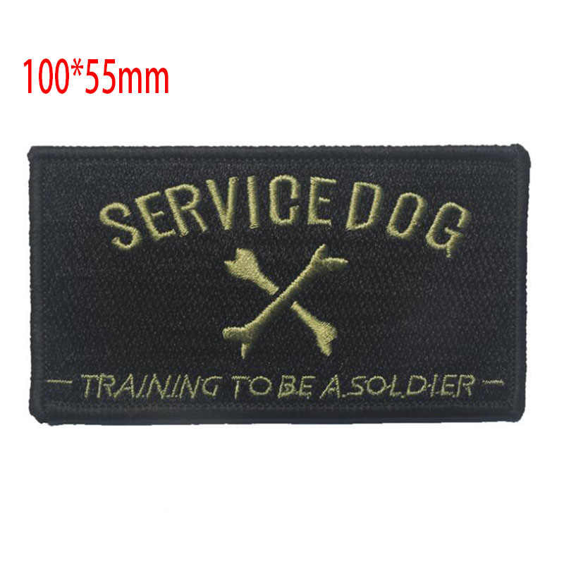 US Army 3D ปัก Armband International Rescue หรือหรือ Death หุ้มเกราะ Legion LOVE บริการสุนัขบุคลิกภาพพัดลม Badge