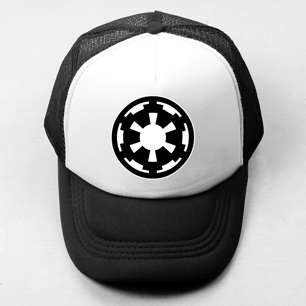 Star Wars Galactic Empire Emblème Casquette de baseball Hommes Femmes Ramones classique Joint Bande Logo Garçons Filles Chapeau D'été Maille Snapback Cap