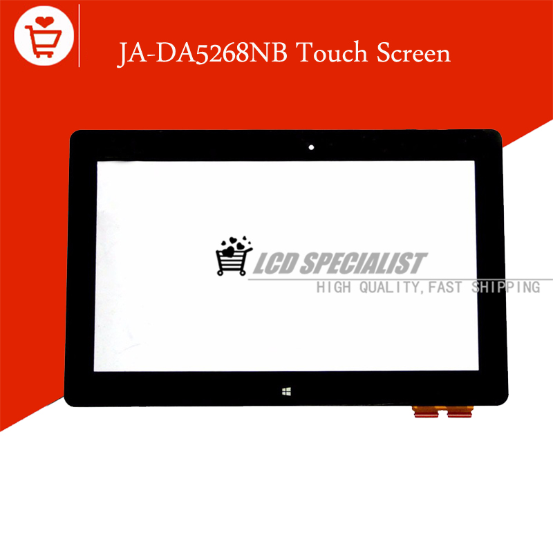 (JA-DA5343RA Version)Black 14 Inch For ASUS VivoBook S400 S400CA Touch Screen Digitizer Glass Sensor Lens With Frame Repartment