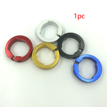 1pc Bar End Stable Lock Rings Bike Parts 8mm Fashionable For Bicycle Grips Round Aluminum Alloy Replacement Durable