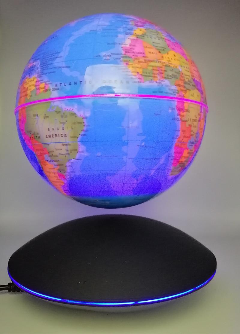 Creative LED Magnetic levitation globe Night Lights table lamp bedroom Children's gifts World Map baby light night lamp for kid - 2