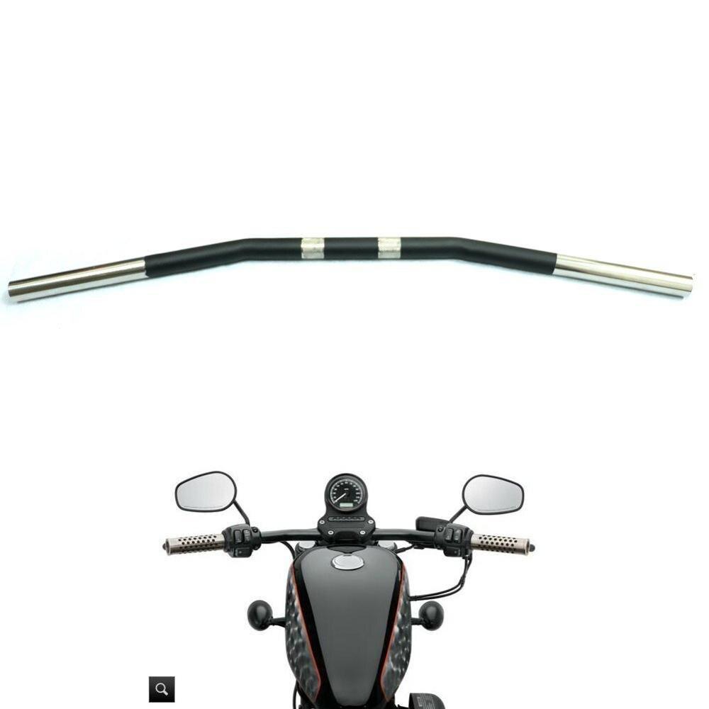 "1"" 25MM Zero Drag Bar Handlebar Curvel for Yamaha Suzuki Kawasaki Honda Harley Sportster XL 883 1200 48 72 Roadster Nightster-in Grips from Automobiles & Motorcycles    1"