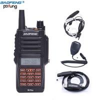 Baofeng UV 9R Plus Walkie Talkie 8W High Power UHF VHF Dual Band IP67 Waterproof UV