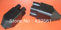 Free Shipping HDPE Standard GB15558 2 2005 Double U Fitting For Ground Source Thermal Collecting DN32