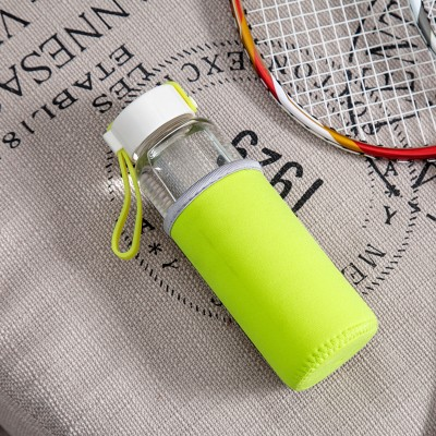 BF040 High quality and high boron silicon glass candy water bottle 18*5.5cm  free shipping