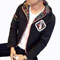 New 2016 Jacket Men Fashion Casual Slim Men's Coats Sportswear Bomber Jacket Mens jackets and Coats black white Plus Size 5XL