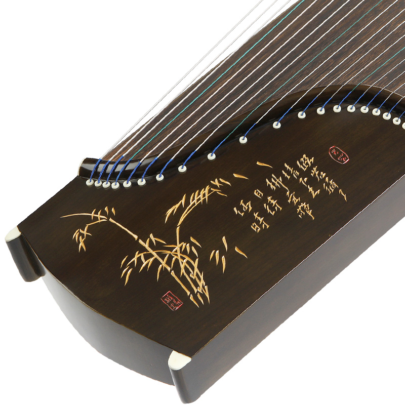 Vent bambou ombre série Guzheng 5 modèles en option chinois Yangzhou Guzheng 21 cordes cithare Instruments de musique