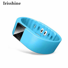 Irisshine C6 brand luxury men women Unisex watch Bluetooth Smart Bracelet Watch Sport Healthy Pedometer Sleep Monitor Wholesale