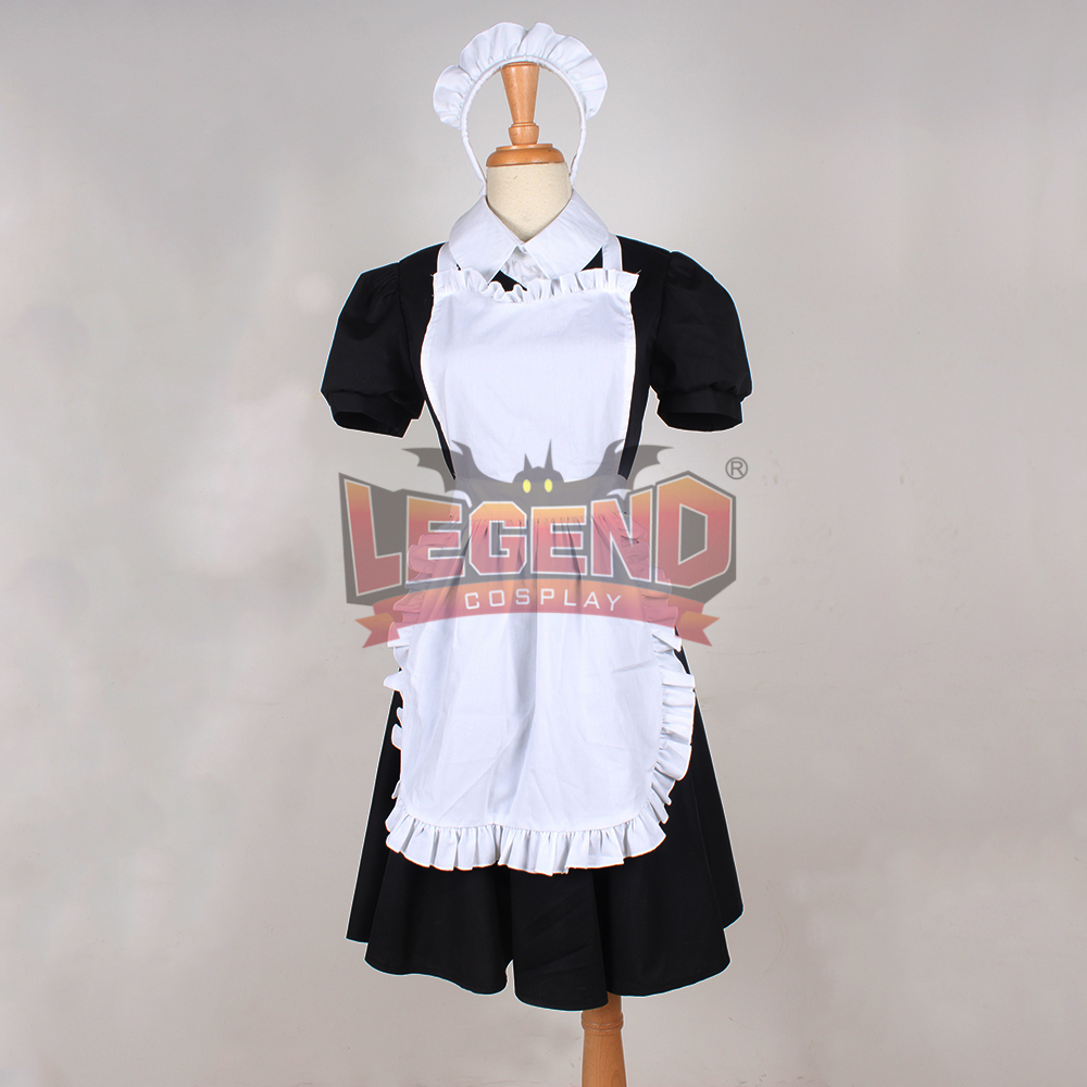 Cosplay legend FAIRY TAIL Virgo Maid Cosplay adult Costume All Size custom made full set