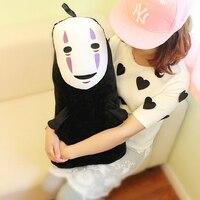1pc 60cm Spirited Away No Face Ghost Kaonashi Plush Pillow Staffed Creative Plush Toy