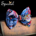 Special New Fashion Bowknot Hair Pins and Clips Crystal Hair Accessories Trendy Hairwear Jewelry Gifts for Women FS16076