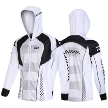 Новинка года Daiwa профессиональная походная альпинистская Одежда для рыбалки анти УФ Анти Москитная дышащая быстросохнущая рыболовная рубашка