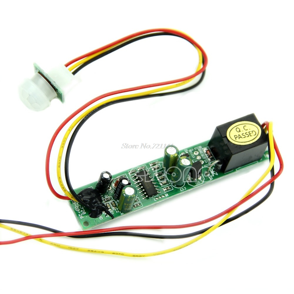 DC 12V 5A Useful IR Pyroelectric Infrared PIR Motion Sensor Detector Module