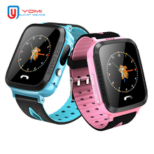 Купить с кэшбэком New Design Kids Smart Watch IP67 Waterproof GPS WIFI Real-time Tracker With Camera GPS Smartwatch PK Q100 Q750 for Child Baby