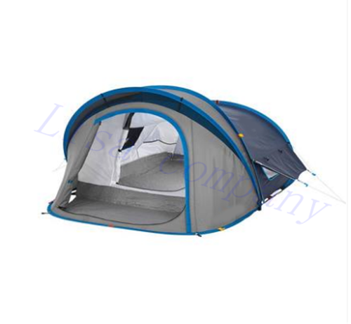 ENNJOI  Fully Automatic Tent Two Person Double Layer Water Resistant Outdoor Camping Tent for Fishing, Hunting Adventure shengyuan outdoor water resistant automatic instant setup two doors 3 4 person camping tent with canopy