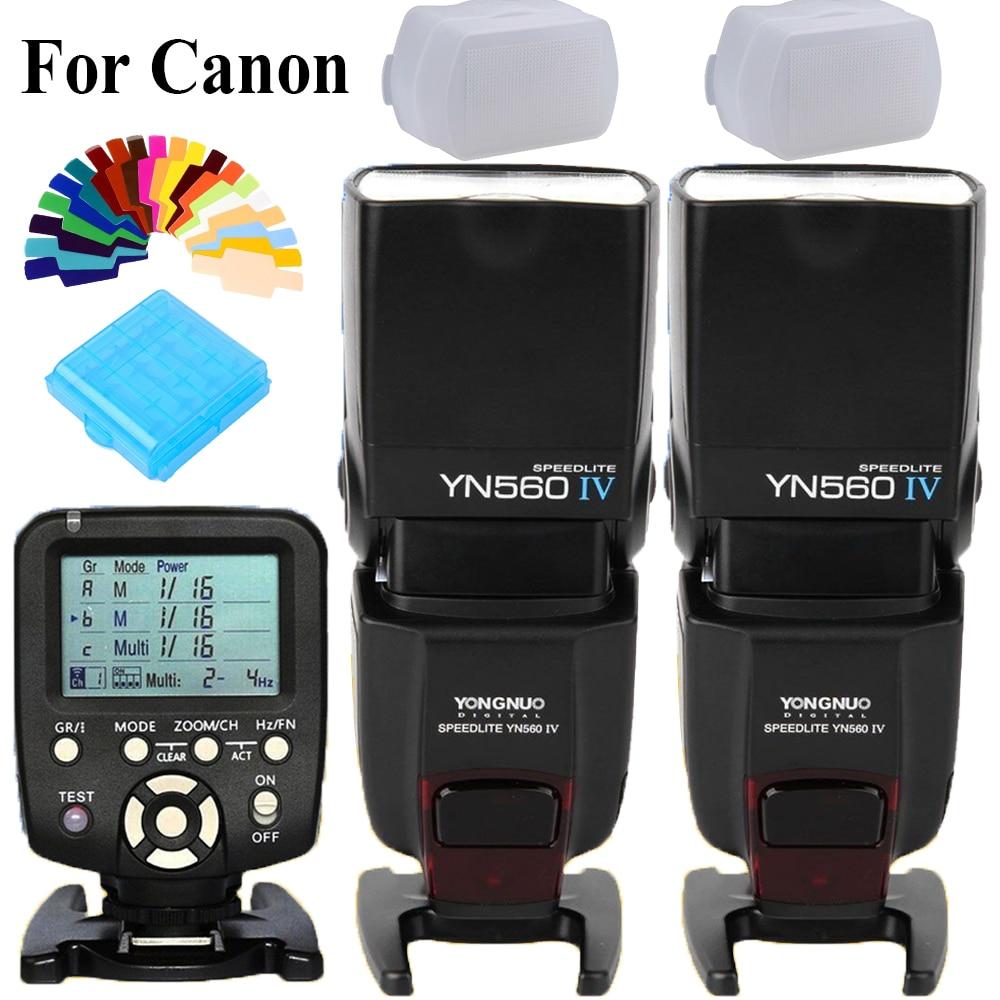 YONGNUO YN560TX YN-560TX Flash Trigger Controller+2 X YN560IV YN560-IV YN-560IV Wireless Master Speedlite For Canon DSLR CamerasYONGNUO YN560TX YN-560TX Flash Trigger Controller+2 X YN560IV YN560-IV YN-560IV Wireless Master Speedlite For Canon DSLR Cameras