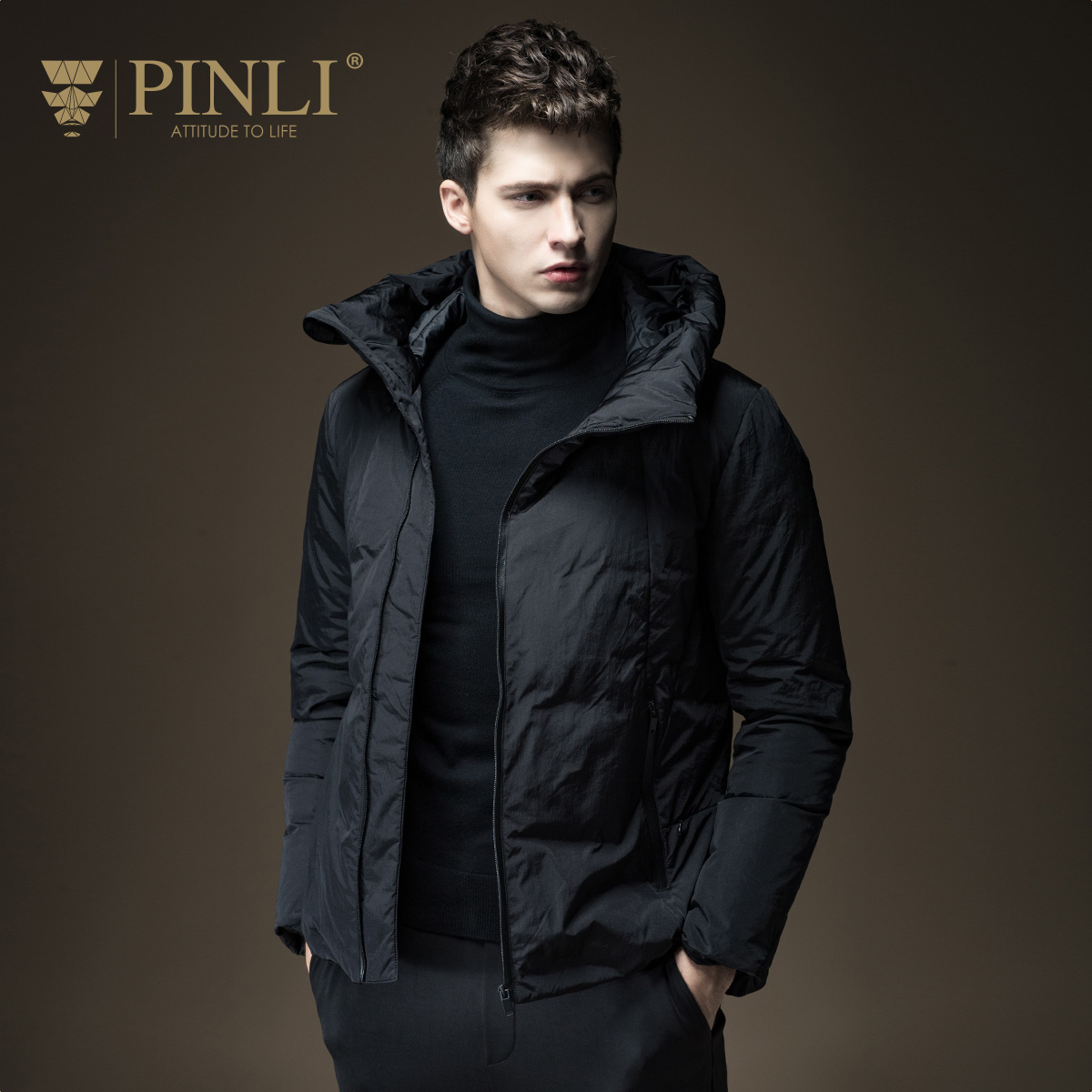 Winter Jackets Mens Special Offer Acetate Short Mandarin Collar Cotton Standard Pinli 2016 New Fall Male Jacket Warm D163508007 new mens colors short sleeve cotton tshirt henry kissinger quote absence