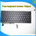 """Brand New SP Español teclado 100 unids tornillos del teclado Para MacBook Pro 15.4 """"A1286 2009-2012 Años"""