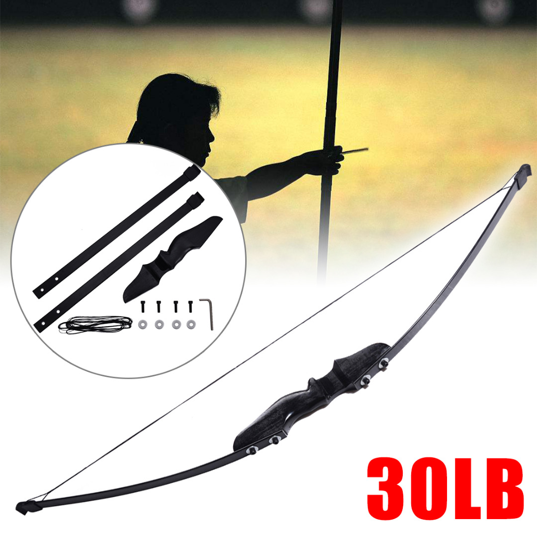 30/40 lbs Black Left/Right Hand Bow Longbow Sport Shooting Target HuntingArchery Recurve Arrow Bow for Hunting Training30/40 lbs Black Left/Right Hand Bow Longbow Sport Shooting Target HuntingArchery Recurve Arrow Bow for Hunting Training