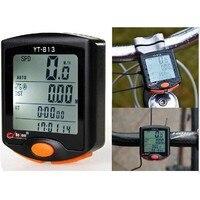 Hohe Qualität 24 Multifunktions Radfahren Fahrrad Wasserdicht Fahrradcomputer LED Hintergrundbeleuchtung Stoppuhr Kilometerzähler