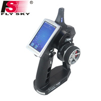 Flysky FS iT4S 2.4GHz 4CH 2Gun AFHDS RC Radio System Transmitter Controller with Touch Screen iT4S PK FS iT4 i4 for RC Car Boat