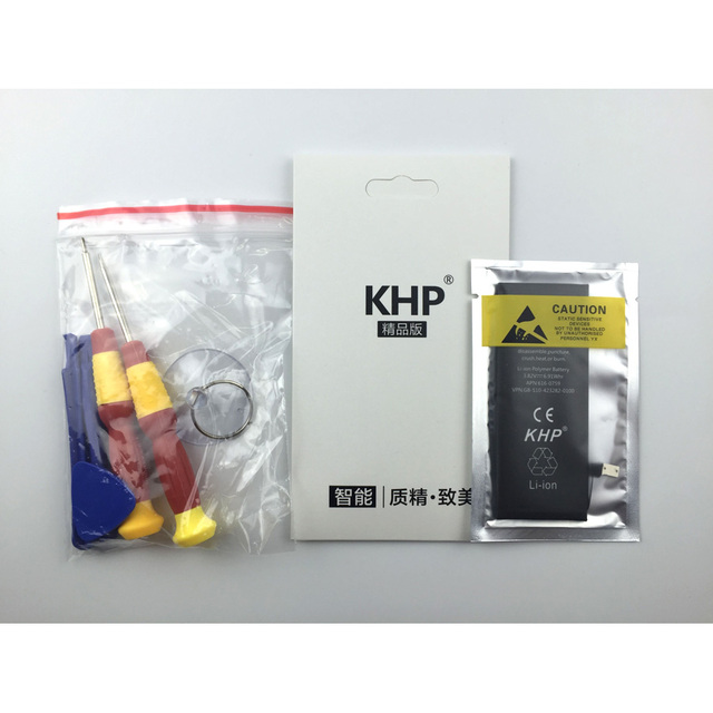 2017 New Original KHP Phone Battery For iphone 6 Real Capacity 1810mAh With Tools Kit Replacement Mobile Batteries 0 cycle