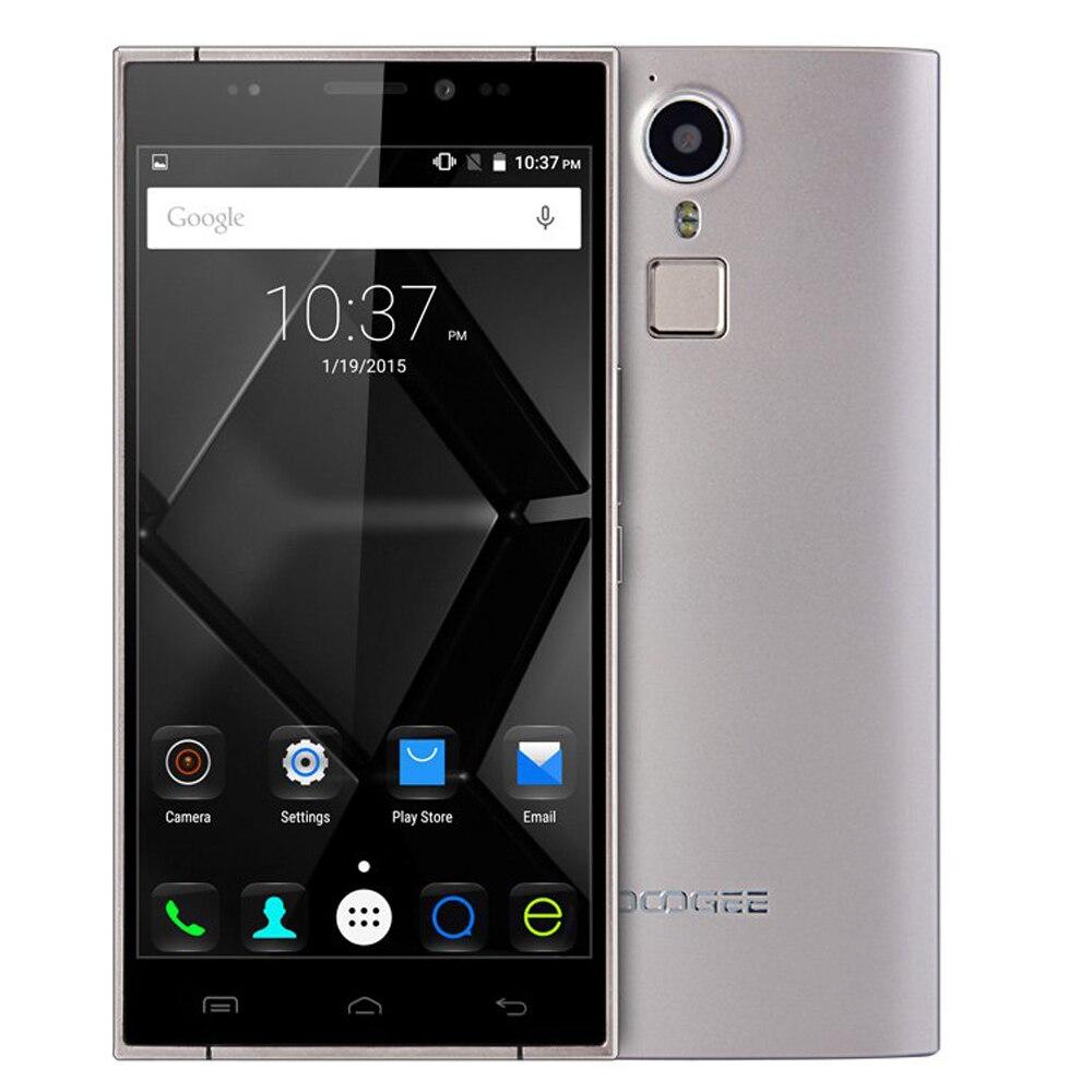 Цена за Оригинал DOOGEE F5 Смартфон Android 5.1 5.5 Дюймов 4 Г MTK6753 64bit 1.3 ГГц Octa Ядро 3 Г + 16 Г 13MP Камера Отпечатков Пальцев Мобильный Телефон