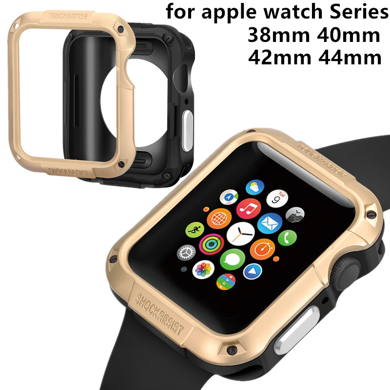 anti-fall watch case for apple watch cover Series 44mm 40mm 42mm 38mm TPU Protective Case For iwatch band 4 3 2 1 Accessoriesanti-fall watch case for apple watch cover Series 44mm 40mm 42mm 38mm TPU Protective Case For iwatch band 4 3 2 1 Accessories