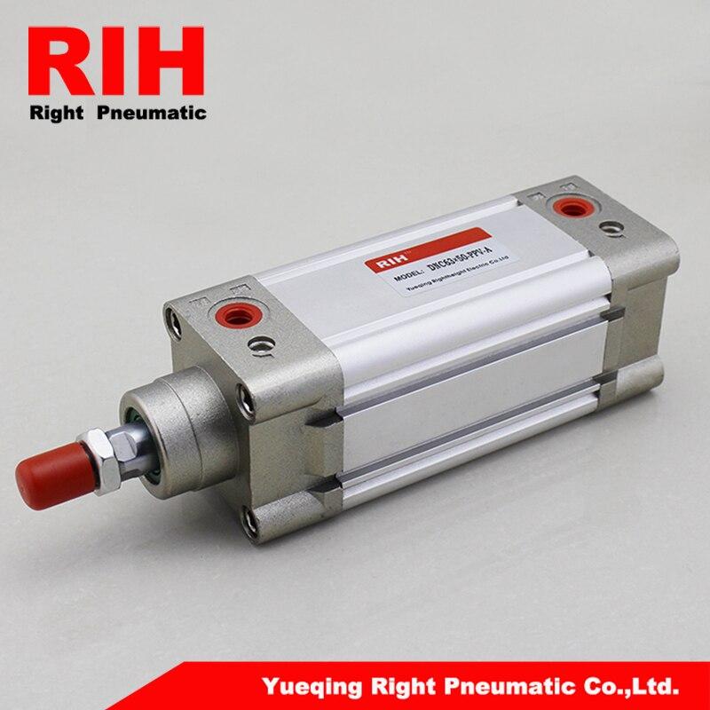 Festo Cylinders Pneumatic,Standard ISO 6431 DNC Series festo Double Acting aluminum Pneumatic air cylinders DNC63*50-PPV-A festo lbn 12 16 double earring support 6058