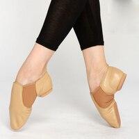 Pelle naturale Jazz Scarpe Stivali Sport Scarpe Da Ballo Donna Lacci per le scarpe Inferiori Molli Con Teachersadult Forma Kungfu Ballet Shoes
