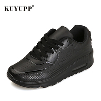 KUYUPP Women Causal Shoes Sport Breathable Trainers Size 35 40 Pink Flat With Ladies Shoes Lace